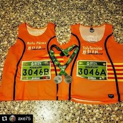 #Repost @axe75 • • • • • • Santa Eularia, Ibiza  Tú y yo, juntos! Correr, disfrutar, compartir, vivir, #2queson1  Hoy un nuevo Reto junt@s! La @IbizaMarathon, los #42krelay nos tiene robado el corazón.  #rafaperez #historiasdeunrunner  #fixpoints #kowloonsports #adiosimperdibles #running #runners #runnersunited
